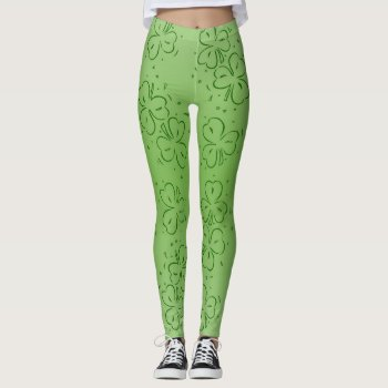 Clover Over and Over Leggings