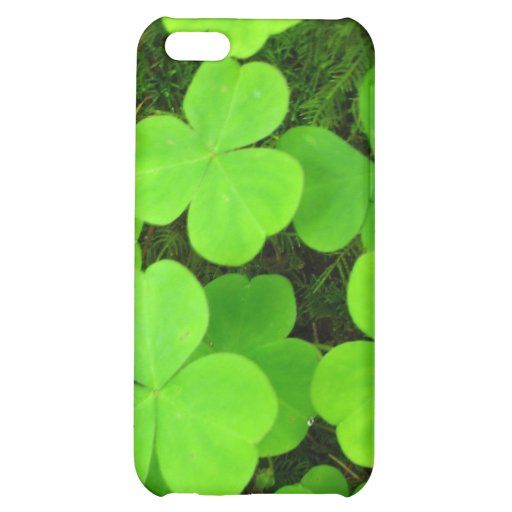 Clover Patch Case For iPhone 5C