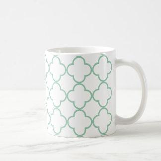 Clover Pattern 1 Hemlock Mugs
