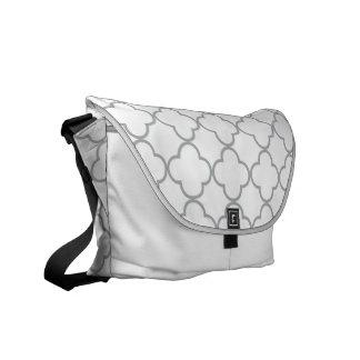 Clover Pattern 1 Paloma Messenger Bag