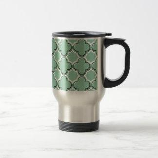 Clover Pattern 2 Hemlock Coffee Mug