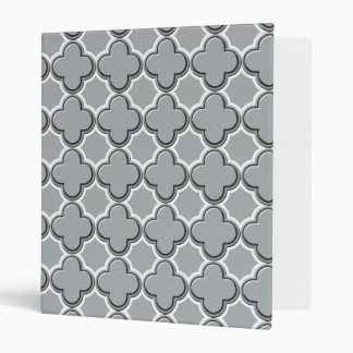 Clover Pattern 2 Paloma Vinyl Binder