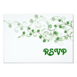 Clover RSVP Card Personalized Invitations