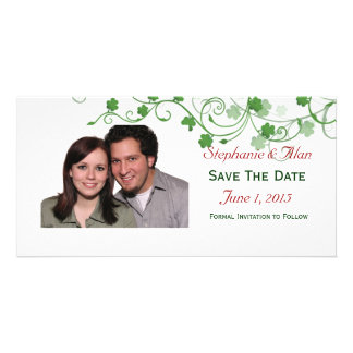 Clover Save The Date PhotoCards Card