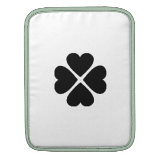 clover sheet heart sweet heart turn out well more  sleeve for iPads