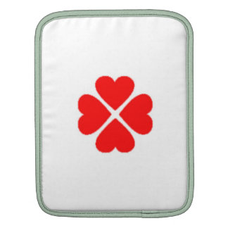 clover sheet heart sweet heart turn out well more  sleeves for iPads