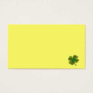Clover sheets business card
