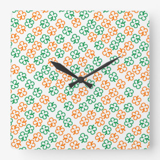 Clover Square Wall Clocks