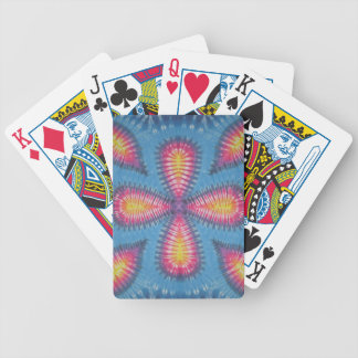 Clover Tie Dye Bicycle Playing Cards