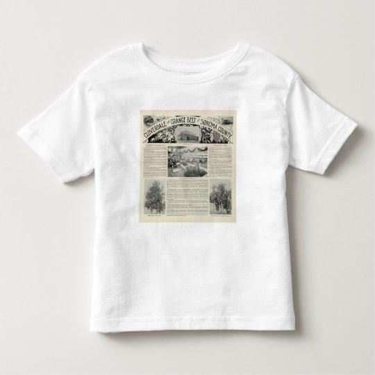 Cloverdale, California Toddler T-shirt