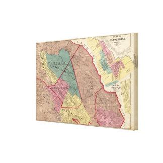 Cloverdale, Washington, Mendocino Canvas Print