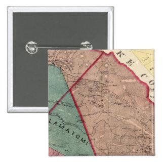 Cloverdale, Washington, Mendocino Pinback Button