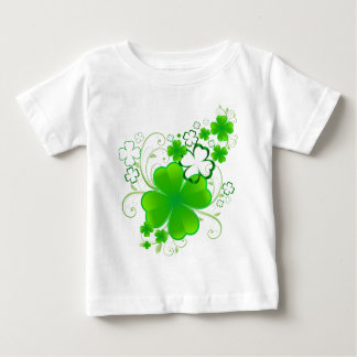 Clovers and Swirls Baby T-Shirt