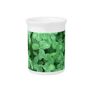 Clovers Beverage Pitcher