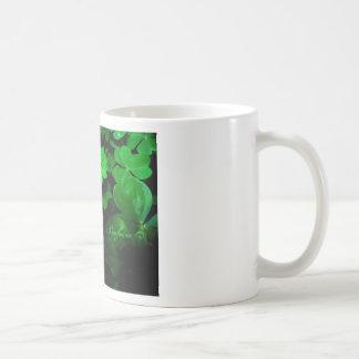clovers - come find me classic white coffee mug