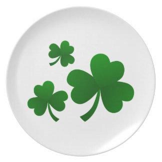 Clovers Dinner Plate