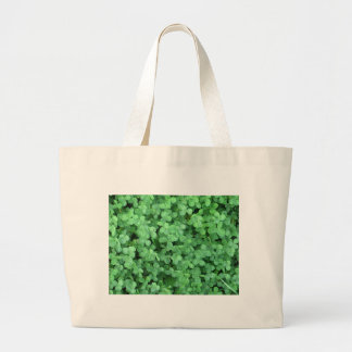 Clovers Large Tote Bag