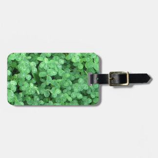 Clovers Luggage Tag