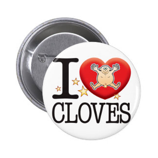 Cloves Love Man Button