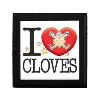 Cloves Love Man Keepsake Box