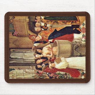 Clovis' Baptism By Meister Des Heiligen Ägidius (B Mouse Pad