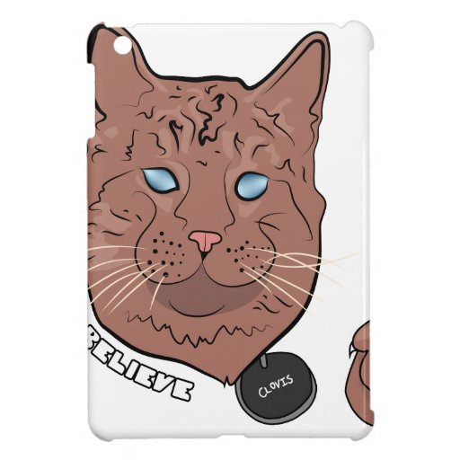 Clovis Believe With Tag Cover For The iPad Mini