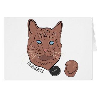 Clovis cree con la etiqueta tarjeta de felicitación