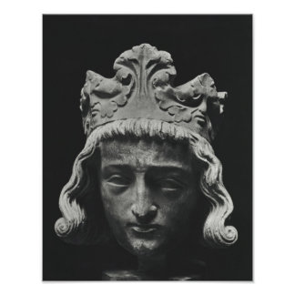 Clovis II , Merovingian Frankish Poster