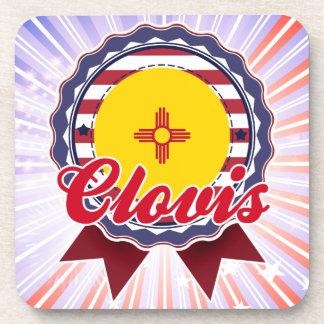 Clovis, nanómetro posavasos de bebida