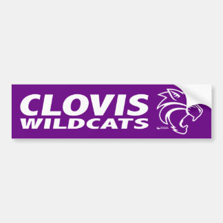 Clovis Wildcats Bumper Sticker