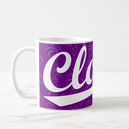 Clovis Wildcats Script Mug