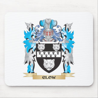 Clow Coat of Arms - Family Crest Mouse Pad