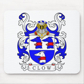Clow Coat of Arms Mouse Pad