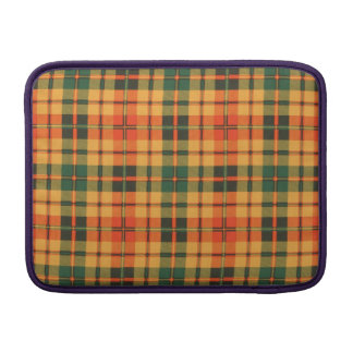 Clowe clan Plaid Scottish kilt tartan MacBook Sleeve