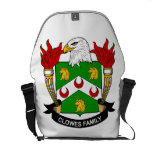 Clowes Family Crest Messenger Bag