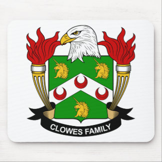 Clowes Family Crest Mouse Pad
