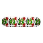 Clowes Family Crest Skate Board Deck