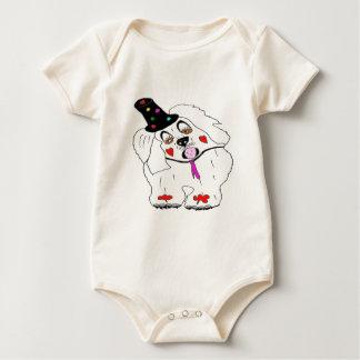 CLOWN1.png DOG Baby Bodysuit