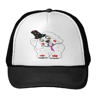 CLOWN1.png DOG Trucker Hat
