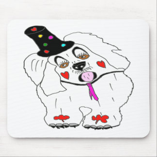 CLOWN1.png DOG Mouse Pads