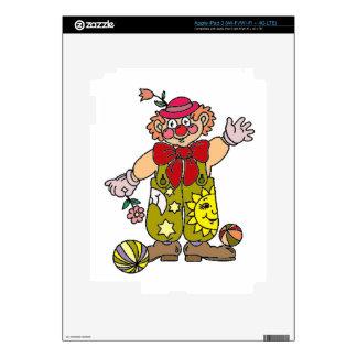 Clown 1 iPad 3 decal