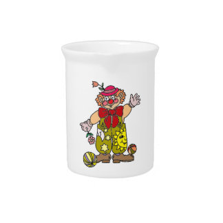 Clown 1 pitcher