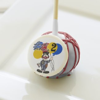 Clown 2nd Birthday Cake Pops