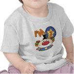 Clown 2nd Birthday Greeting Card T-shirt