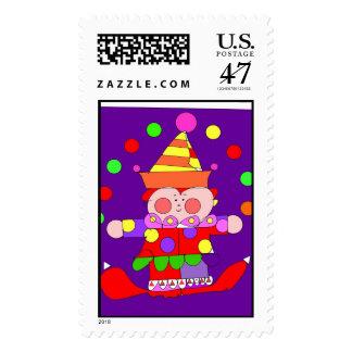 clown 300dpi illustrator copy postage