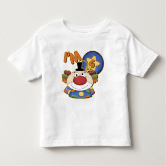 Clown 4th Birthday Tee Shirt