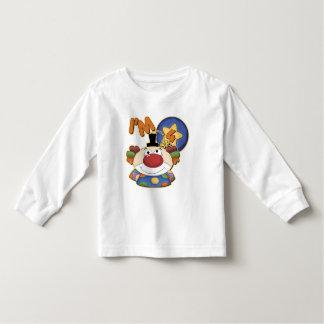 Clown 4th Birthday Toddler T-shirt