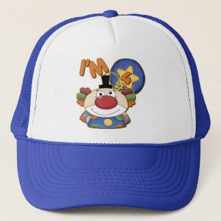 Clown 4th Birthday Trucker Hat