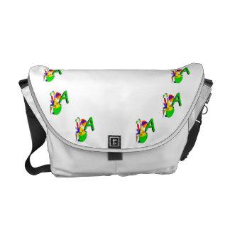 Clown A.png Messenger Bag