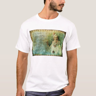Clown Actor and Song Sheet T-Shirt